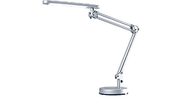 UNILUX LED Schreibtischleuchte Senza 2.0 Schreibtischlampe  silber