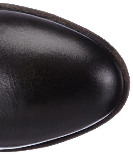 Blackstone BOOTIE HIGH LEATHER, Bottes Classiques femme Noir - Noir