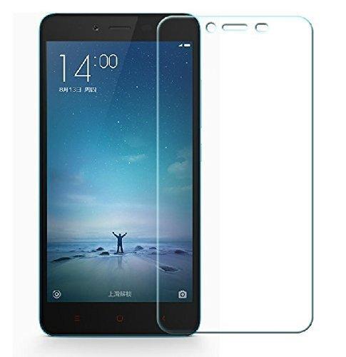 Blufox* Xiaomi Redmi 2 stoßfeste Glas Folie der neusten Generation Anti-Kratz-Screen Protector Displayschutz Gehärtetes Schutzglas hauchdünn [Kompatibilität XIAOMI HONGMI REDMI 2 1,2 GHz Qualcomm Snapdragon 410 64-Bit-Quad-Core 4,7-Zoll-HD-Bildschirm 4G LTE Smartphone MIUI 6 - Schutz- aus Tempered Glass incl. Reinigungs-Kit