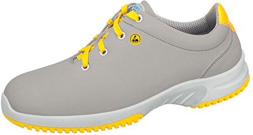 Abeba 36784-48 Uni6 Chaussure bas ESD Taille 48 Gris/Jaune
