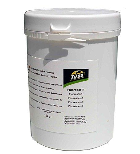Fluorescein Dinatriumsalz/Uranin/Acid Yellow 73 (100 g), z. B. Leckortung