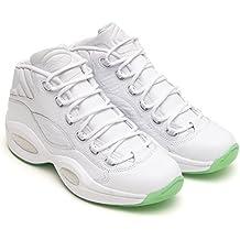 Reebok - Zapatillas de Baloncesto de Material Sintético para Hombre Blanco Bianco
