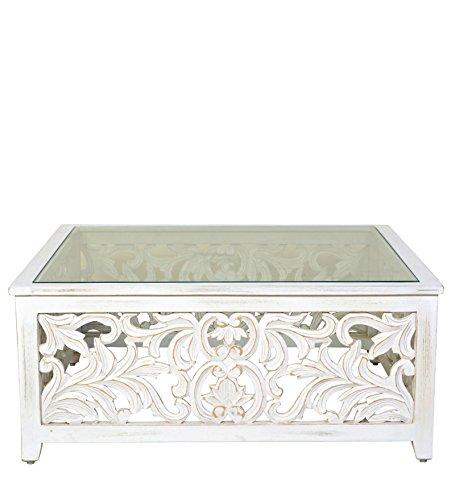 HomeTown Center Table (White)