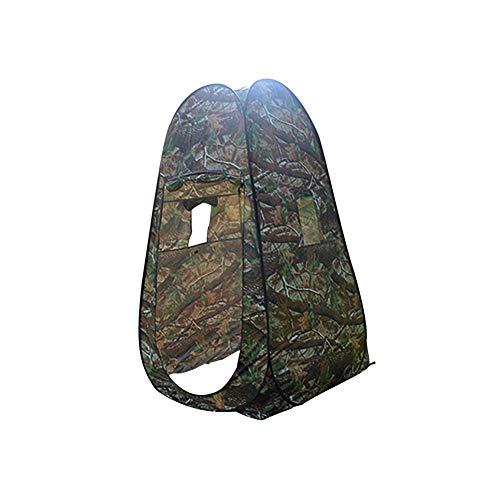 PIONIN Outdoor-Pop-up-Zelt Faltbare tragbare Camouflage-Campingzelt für Dusche, Bad, WC, Privatsphäre, Garderobe Lagerung, Angeln