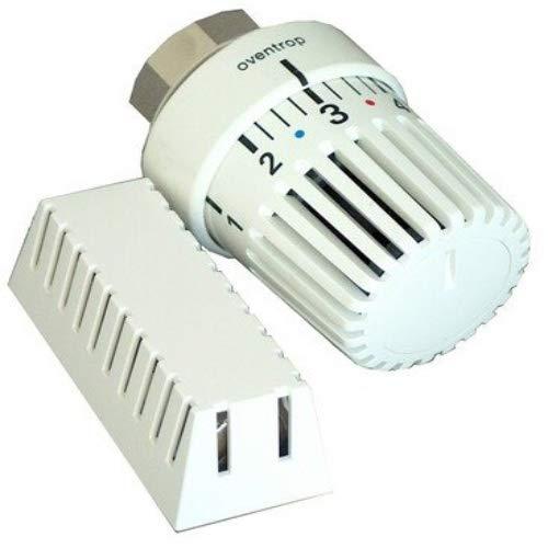 """Oventrop Thermostat\""""Uni LH\""""7-28 C, 0 x 1-5, Fernfühler 2 m, weiß, 1011665"""