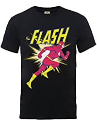 DC Comics Boys Official Flash Running Kids T-Shirt