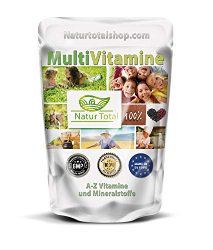 Multivitamin 500 Tabletten Hochdosiert - Multivitamine A-Z - Premium Qualität - Hergestellt in Großbritannien unter GMP-Standards - Vegan - Glutenfrei