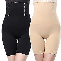 O³ Miederhose Bauch Weg stark formend // Größe XS - 4XL Schwarz oder Nude // Body Shapewear // Damen Unterwäsche (Nude 4XL)
