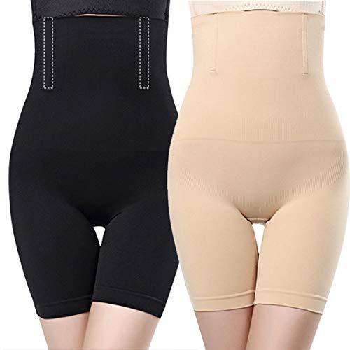 O³ Miederhose Bauch Weg stark formend // Größe XS - 4XL Schwarz oder Nude // Body Shapewear // Damen Unterwäsche (Nude XL/XXL)