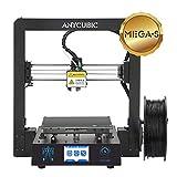 ANYCUBIC Mega-S imprimante 3D Impression Taille 210 x 210 x 205mm avec UltraBase, 3,5' écran Tactile et 1 kg de Filament PLA