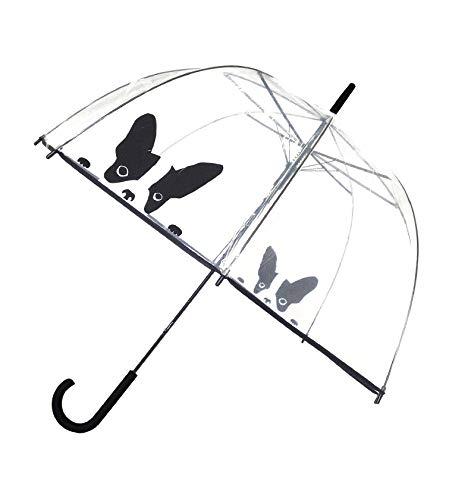 SMATI Paraguas Largo Transparente Forma