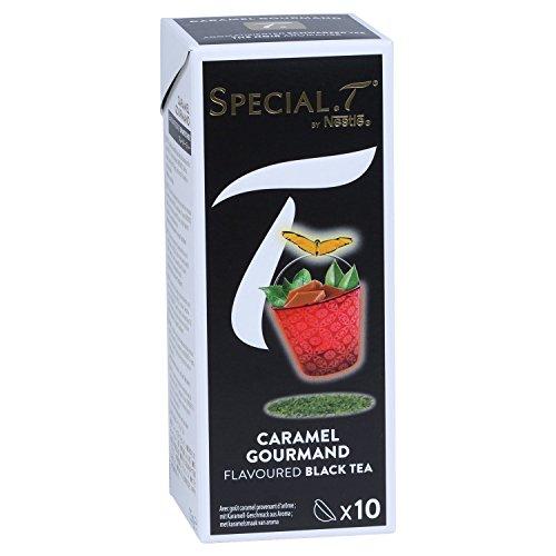 Original Special T - Caramel Goumand - Schwarztee - 10 Kapseln (1 Packung) für Nestlé Tee Maschinen - hier bestellen