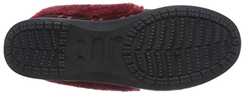 Dunlop - Alaina, Pantofole Donna Rosso (Rosso (Wine))