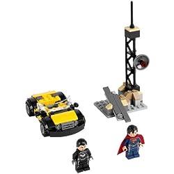 LEGO Super Heroes - Superman: Metropolis Showdown, pack de figuras de acción (LEGO 76002)