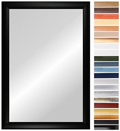 OLIMP 60 x 120 cm Spiegel nach Maß mit Rahmen, Rahmen Farbe: Grau Gewischt, handgefertigter Wunschmaß Spiegelrahmen inkl. Spiegel und stabiler Rückwand, Rahmenleiste: 35 mm breit und 18 mm hoch, Spiegel Rahmen Außenmaß: 600 mm x 1200 mm (Mit Spiegel Rahmen)