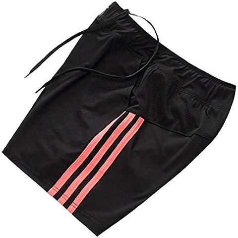 Lanbaosi Pantalones cortos corrientes de las mujeres con los bolsillos de los pantalones de tenis Campo de secado rápido