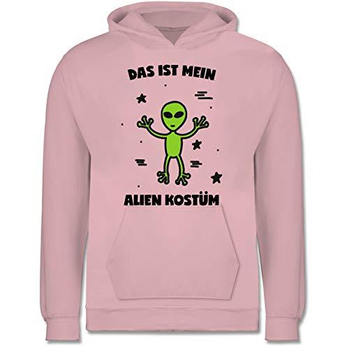 Karneval & Fasching Kinder - Das ist Mein Alien Kostüm - 12-13 Jahre (152) - Hellrosa - JH001K - Kinder (Alien Kostüm College)