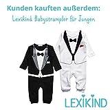 Lexikind Kapuzenhandtuch Baby: Frottee Bademantel - Babyhandtuch mit Kapuze - Kapuzenbadetuch (Hai blau) - 7