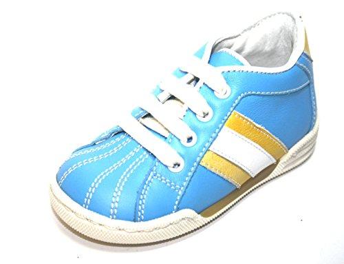 Karton Ohne Jungen Baby Halbschuhe Blau Cherie 0834 Schuhe Kinder mN8nyOwv0