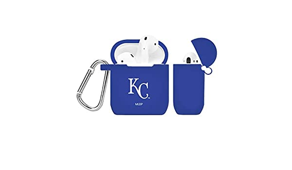 GAME TIME Kansas City Royals Silicone Case Cover for Apple AirPods Battery Case Royal Blue