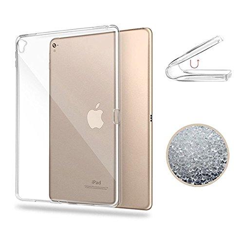 iPad pro 12.9 2017 Hülle, TopACE® TPU Hülle Schutzhülle Crystal Case Durchsichtig Klar Silikon transparent für iPad pro 12.9 2017 (Transparent) (Ipad Case Silikon)