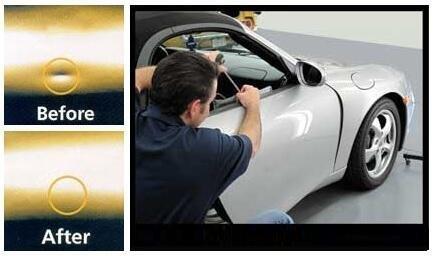 Mookis Outils PDR Paintless Carrosserie Réparation, 11PCS Kit Débosselage Sans Peinture, Dent retrait et hail Réparation [Classe énergétique A+++] pas cher – Livraison Express à Domicile