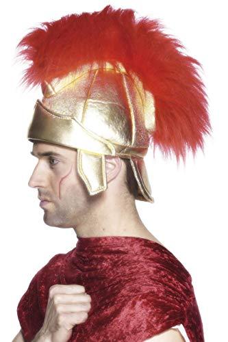 Römischer Soldatenhelm mit Helmbusch, One -