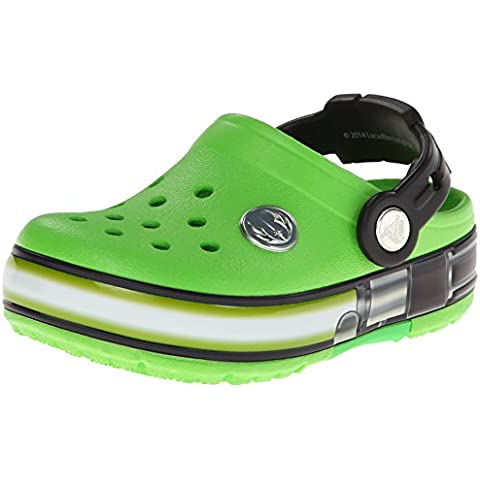 CROCS - CROCSLIGHTS STAR WARS YODA - neon green black