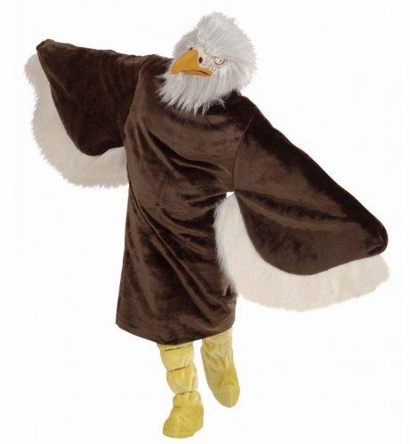 Widmann 4488E - Erwachsenenkostüm Adler, Kostüm, Stiefelüberzieher, Maske (Happy Halloween Animal Costumes)