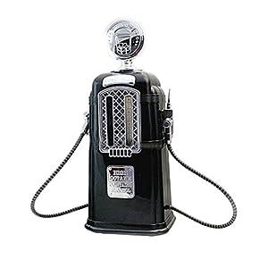 BESTONZON 1080ml gas Pump Liquor dispenser Liquor decanter Machine dispenser di bevande alcoliche bar Tool (nero)