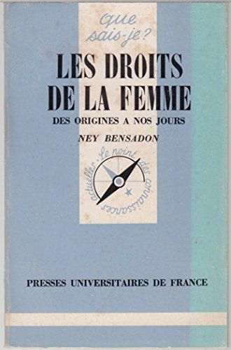 Les Droits de la femme : Des origines à nos jours