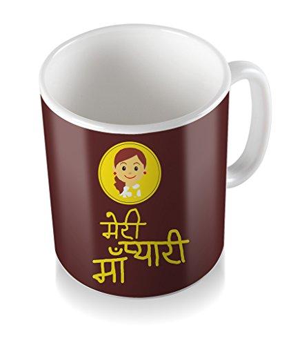 Meri Pyari Maa Gifts For Mother's Day Ceramic Coffee Mug  available at amazon for Rs.299