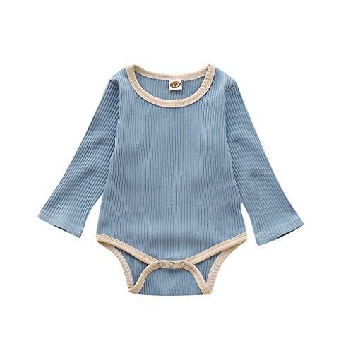 Allence Baby Mädchen Stricken Outfit Baby Langarm Strampler Herbst und Winter Overall Kinderkleidung Cute Kleidungsset