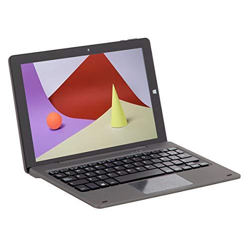Schneider Consumer - Dual Book SCT101CTM, Tablet con Teclado, 10 Pulgadas, Full HD, Windows 10, 2GB RAM, 32GB ROM/Flash, Intel Cherrytrail (Quad-Core), Negro