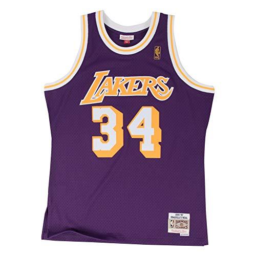timeless design 3766f 1d4d3 Mitchell   Ness - Canotta NBA Shaq O  Neal   34 Los Angeles Lakers 1996