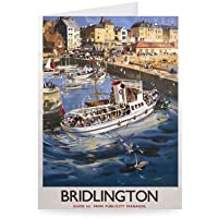 Robin Hood's Bay Yorkshire by LNER - Greeting Card (Pack of 2)