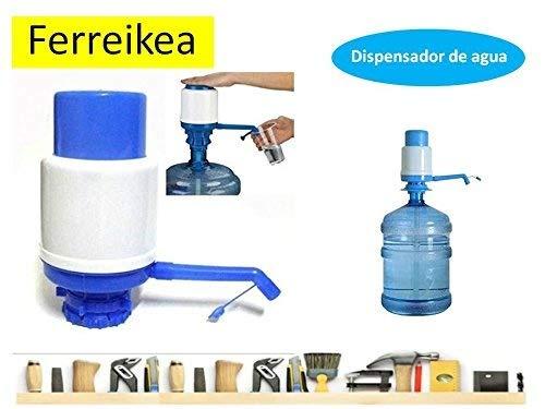 Dispensador de agua manual para garrafas - bomba compatible con botellas (PET) de 5, 6, 8 y 10 litros