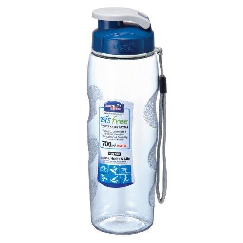 Lock & Lock Bisfree Handlich Sport Wasser Flasche Tritan, 2,9Tassen 2430ml