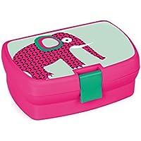 Preisvergleich für Lässig 1210002717 Kinder Lunch-Box Brotdose, Wildlife Löwe