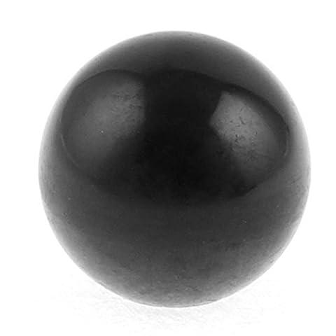 DealMux M12 Bore 40mm schwarz Kunststoff-Kugel Schaltknauf Griff für Drehmaschinen
