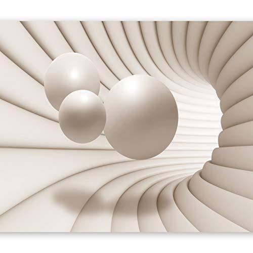 *murando – Fototapete 400×280 cm – Vlies Tapete – Moderne Wanddeko – Design Tapete – Wandtapete – Wand Dekoration – Kugel Abstrakt 3D a-A-0154-a-b*