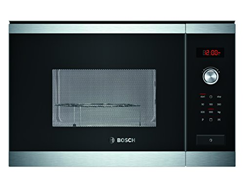 Bosch HMT84G654 - Microondas con grill para montaje empotrado, 900 W, color...