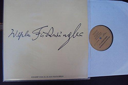 Sinfonie Nr. 6 op. 68 Pastorale und Sinfonie Nr. 5 op. 67 - Live Aufnahme Berlin 23.- 25.5.1954 und Bemerkungen zu Beethovens Fünfter und Sechster Symphonie. Wilhelm Furtwängler. Furtwängler Societe Mono