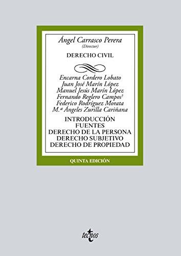 Derecho Civil (Derecho - Biblioteca Universitaria De Editorial Tecnos)