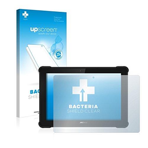 upscreen Bacteria Shield Clear Bildschirmschutz Schutzfolie für Archos 101 Saphir (antibakterieller Schutz, hochtransparent)
