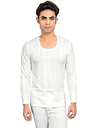 RedFort Men's White Thermal Top White Color