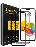 UniqueMe [2 pièces Protection écran Huawei Honor 8X Full, Ultra Résistant Film Dureté 9H sans Bulle Verre trempé pour Huawei Honor 8X.