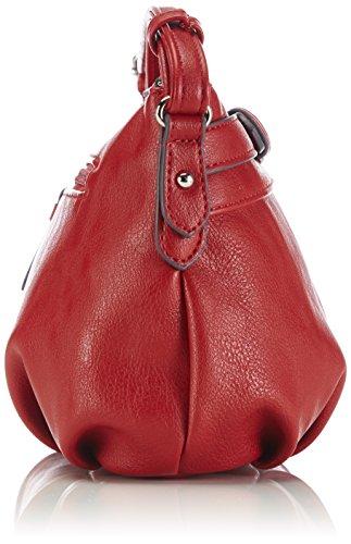 Tom Tailor Acc RUBY 17100 Damen Schultertaschen 26x15x9 cm (B x H x T) Rot (Rot 40)