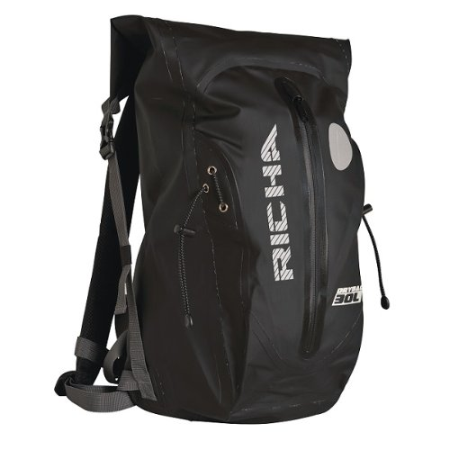 Imagen de richa h20 30l 100% impermeable moto motocicleta touring  negro