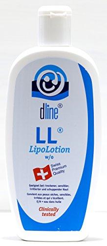 dline LL-LipoLotion 500ml, hochwertige Feuchtigkeitslotion für trockene sensible irritierte...